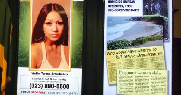 Suspect arrested decades after pregnant woman found dead