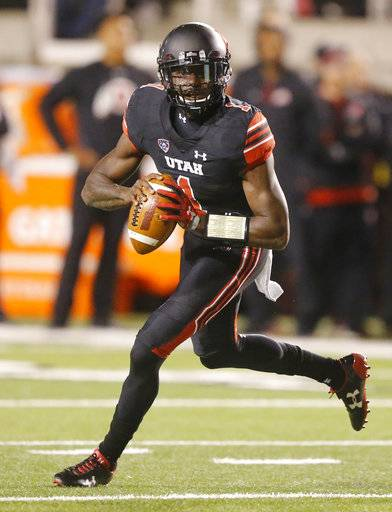 Huntley throws for 4 TDs, Utah rolls to 48-17 win over UCLA