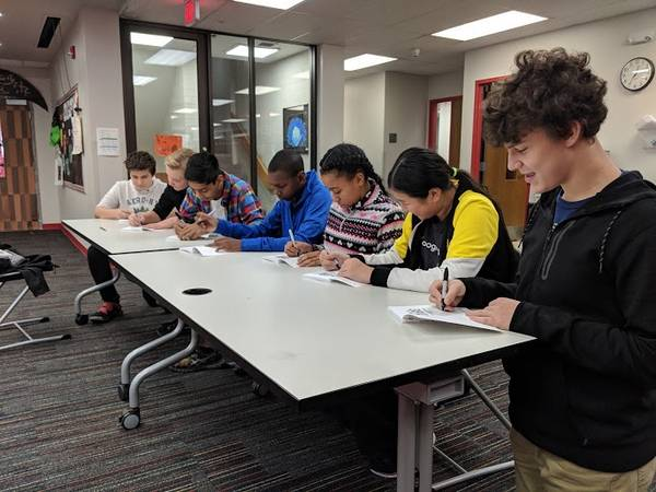 Quest Academy students publish book with local author's help