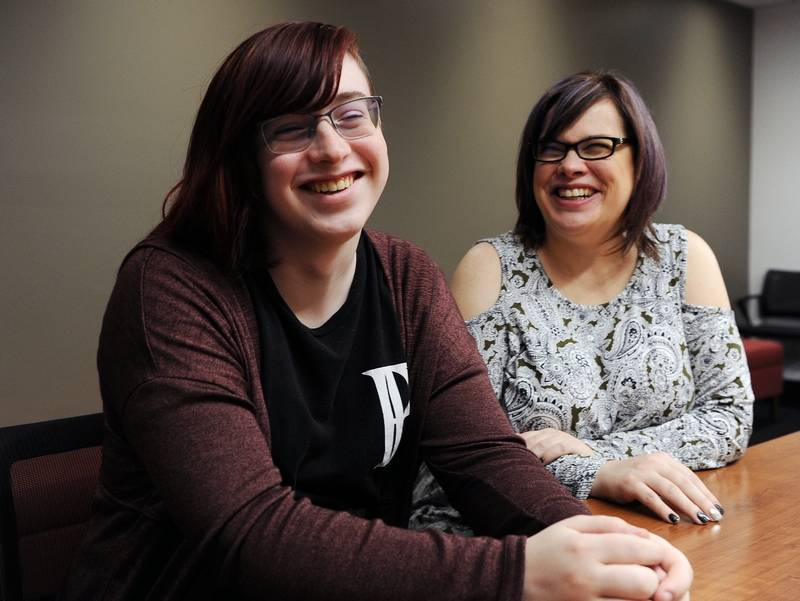 Palatine High School student Nova Maday, a transgender girl, is suing District 211 for first blocking, then restricting her from accessing the girls locker room. Her mom, Brenda Schweda, joins her in talking about her experience as a transgender student.