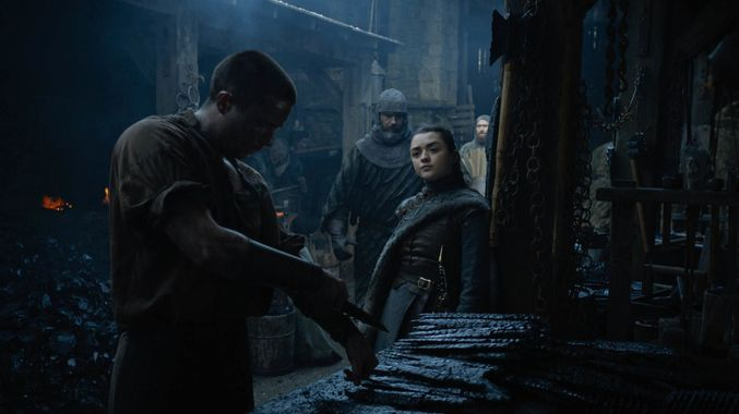 Gendry is a Dragon Slayer