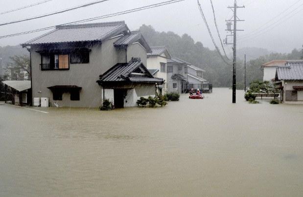 Typhoon Hagibis: Biggest Japan storm in decades makes landfall