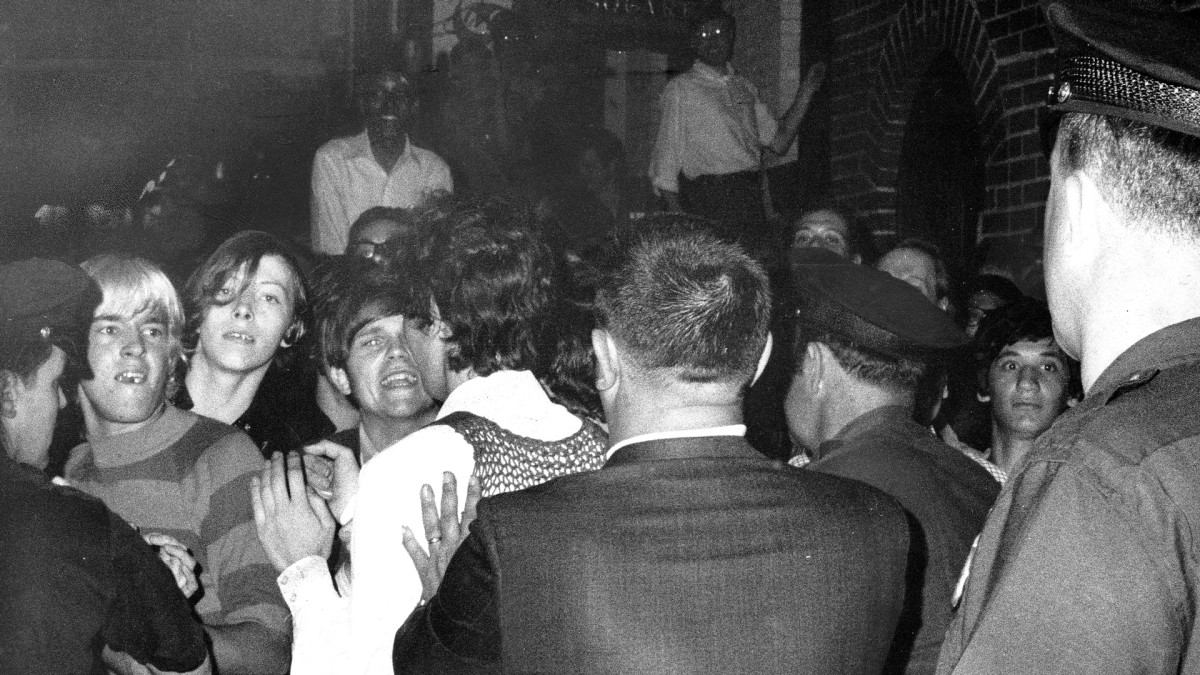 The Stonewall Riots begin in NYC's Greenwich Village