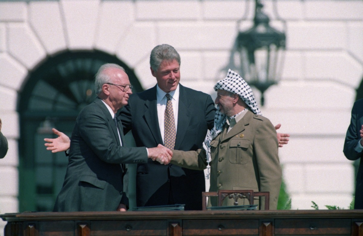 Israel-Palestine Peace Accord Signed – HISTORY