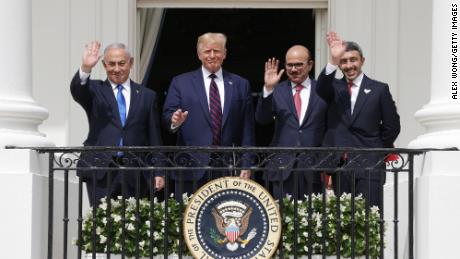 Full text of the law of Abraham Accords and agreements between Israel and the United States / Bahrain