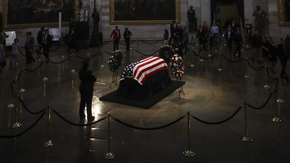 Lying in State: The History Behind the Solemn Tradition