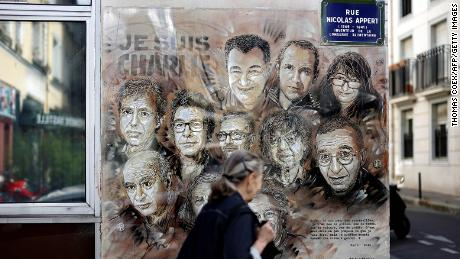 He begins to fear of the Judgment of Charlie Hebdo in Paris, five years after the deadly attacks of