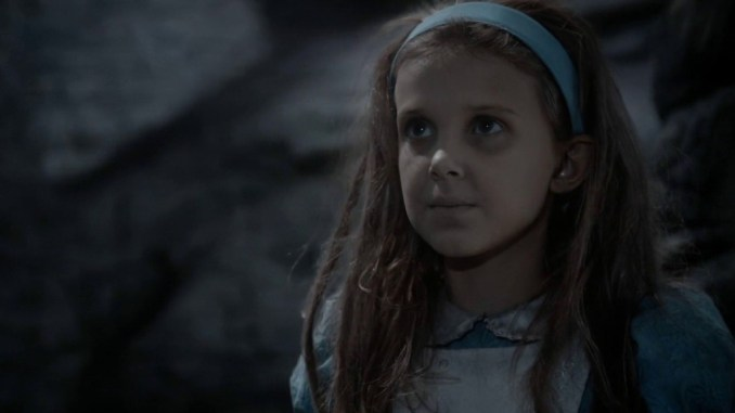 Once Upon A Time in Wonderland on Disney +: the first role of Millie Bobby Brown - news series on tv