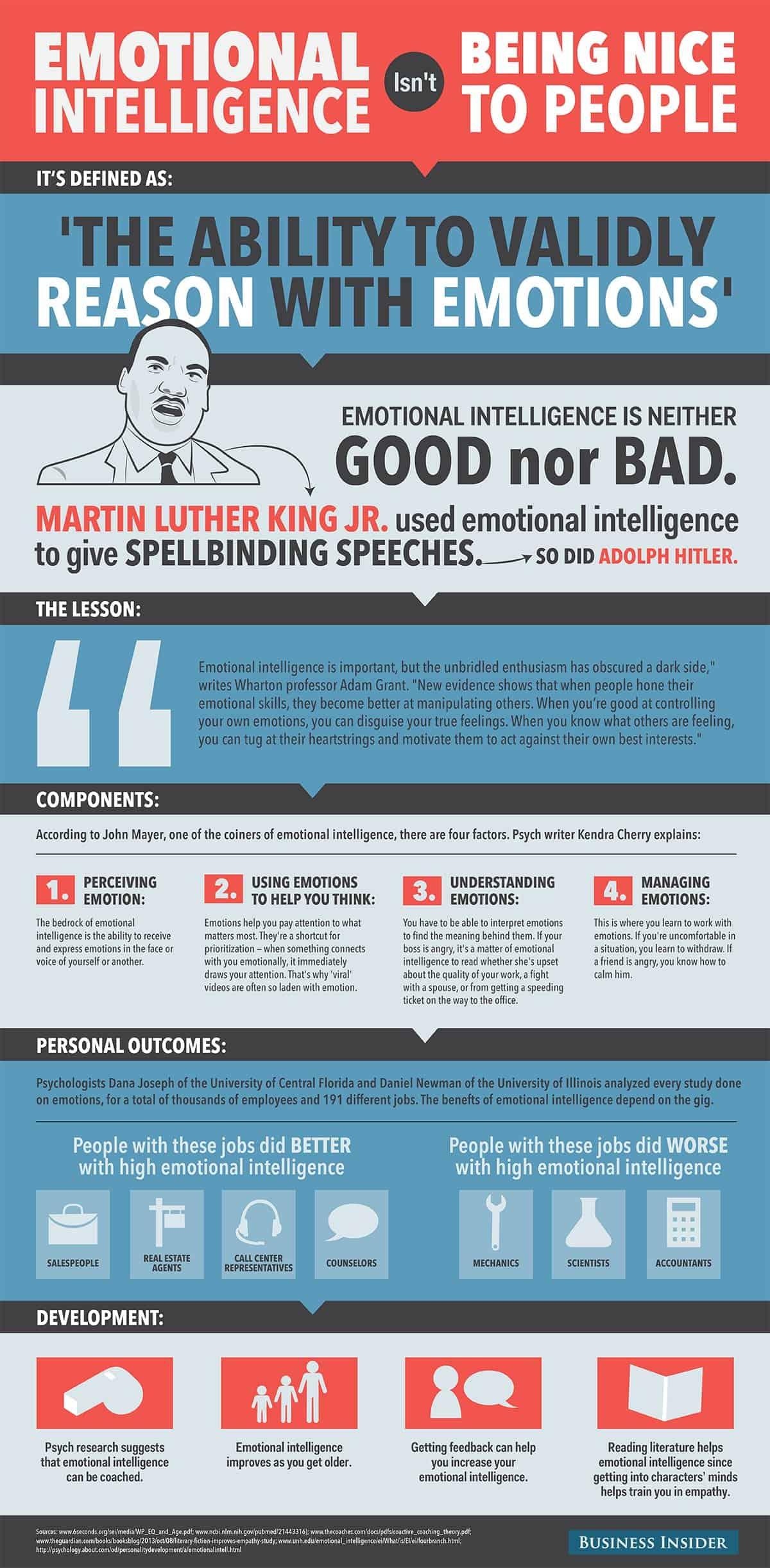 Emotional Intelligence Isn T Being Nice To People