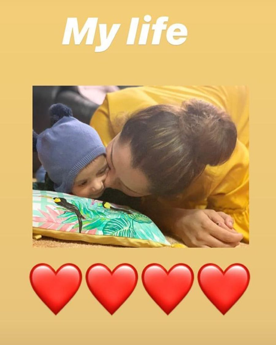 New Awesome Photos of Sania Mirza with her Son Izhaan Mirza Malik