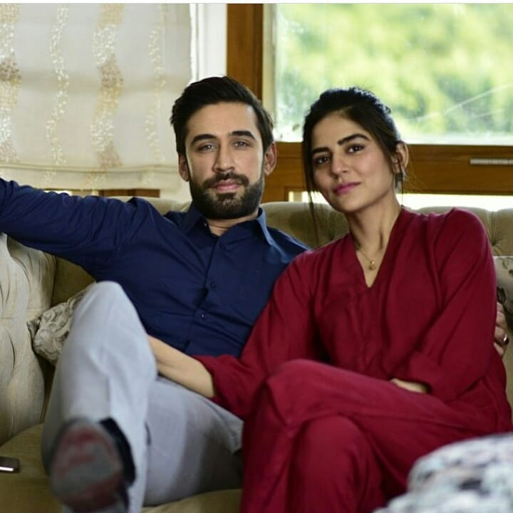 Sanam Baloch on the Set of her Upcoming Drama Khaas