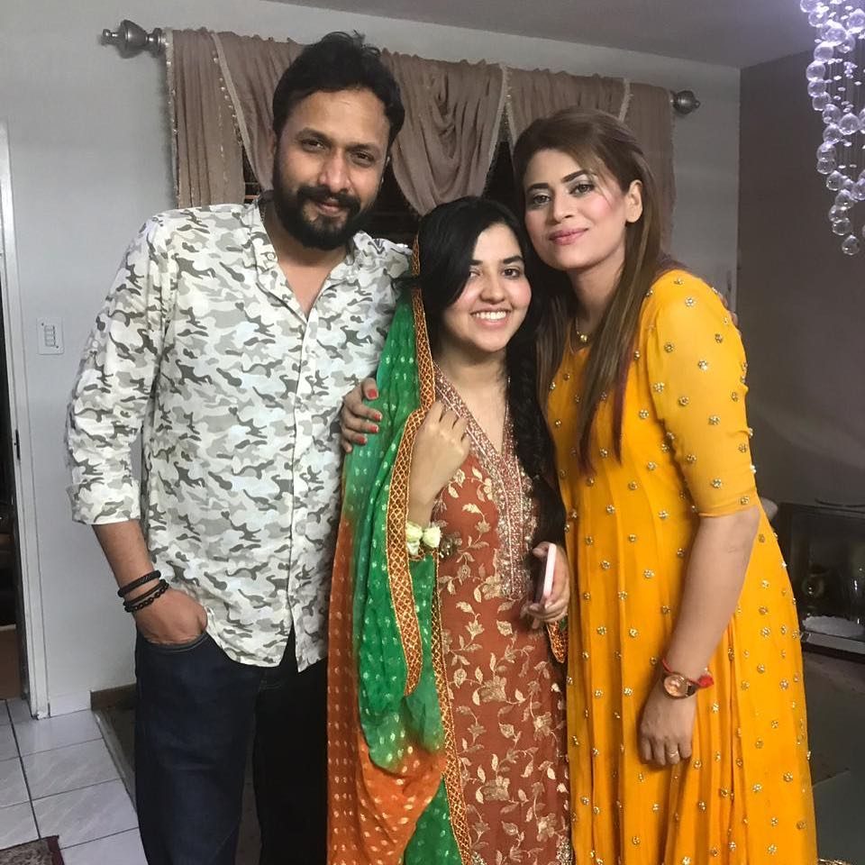 Awesome Photos of Benita David with her Husband at a Wedding Event