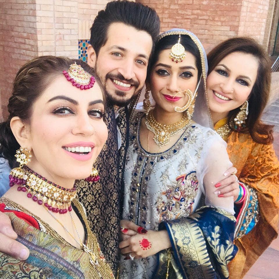 Saba Faisal Son Salman Faisal Got Married