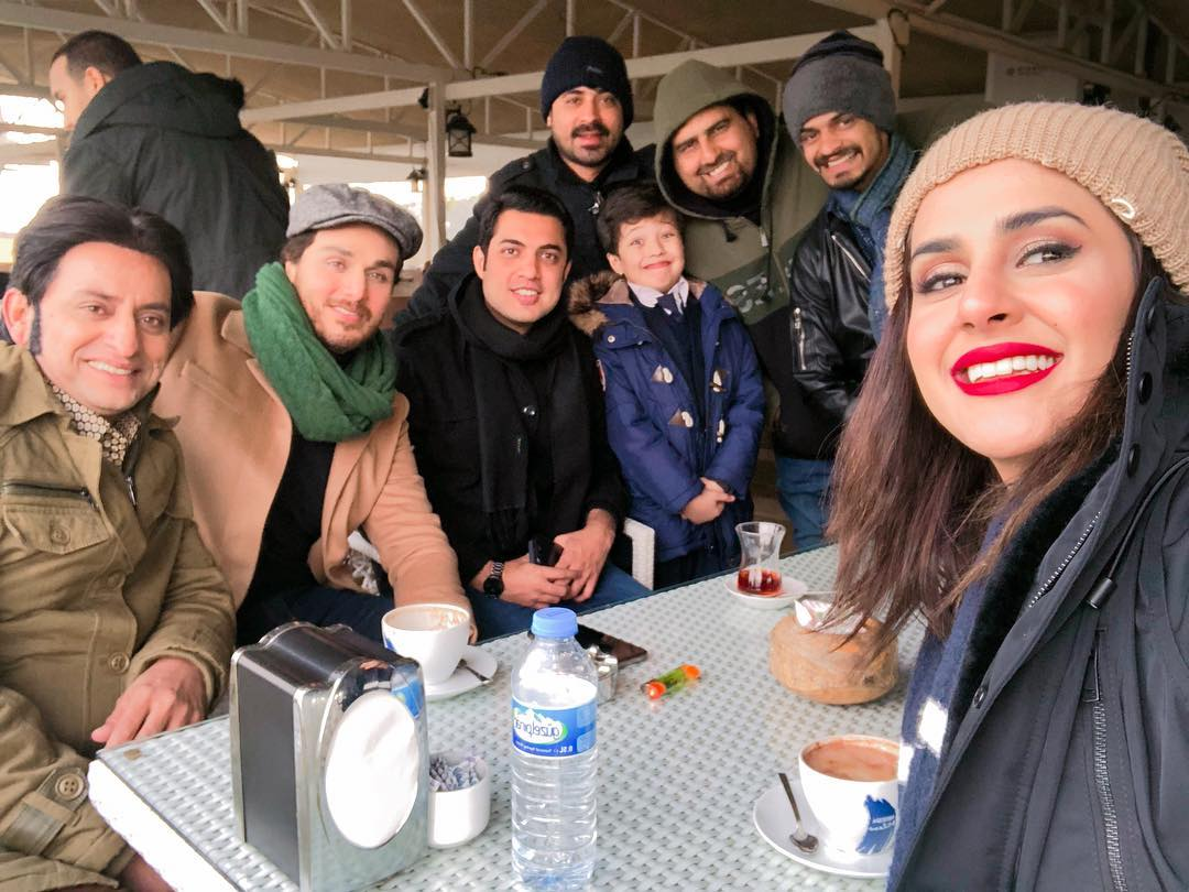 Awesome Photos on the Set of Upcoimg Drama Alif Written by Umera Ahmed