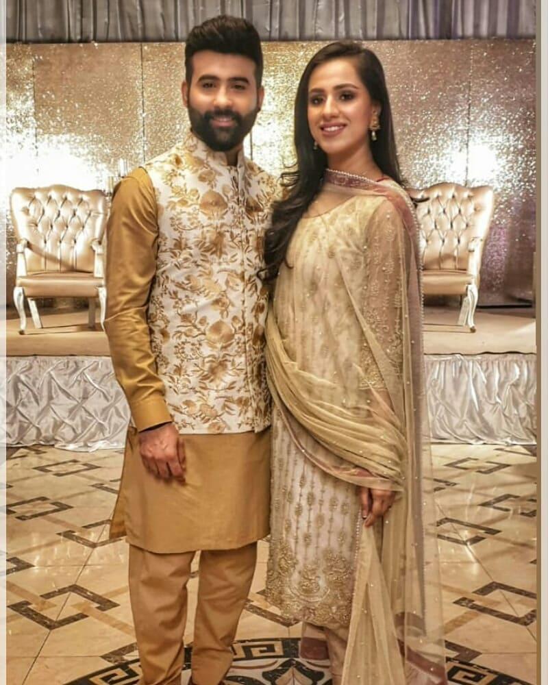 Awesome Couple Faizan Sheikh and Maham Amir in Faysal Qureshi Morning Show