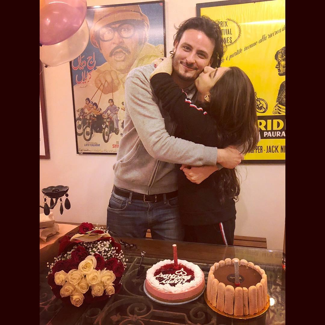 Maya Ali & Mariyam Nafees at Osman Khalid Birthday