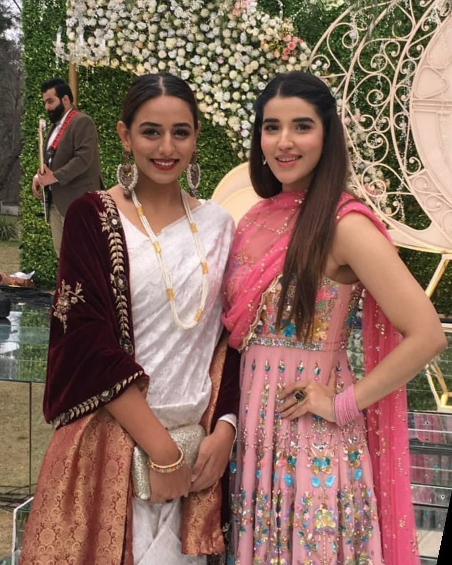 Awesome Hareem Farooq at a Wedding Event
