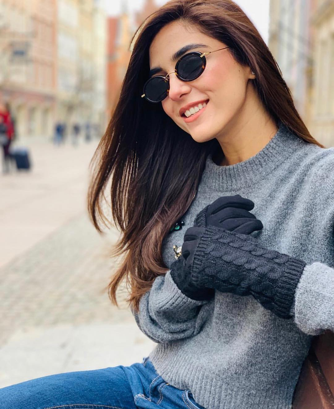 New Awesome Photos of Maya Ali in Poland