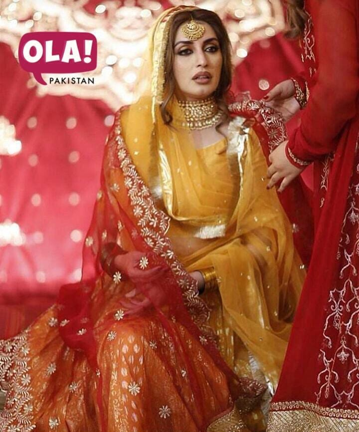 Here is Complete Coverage Covering Photos and Videos of Iman Aly Mehndi