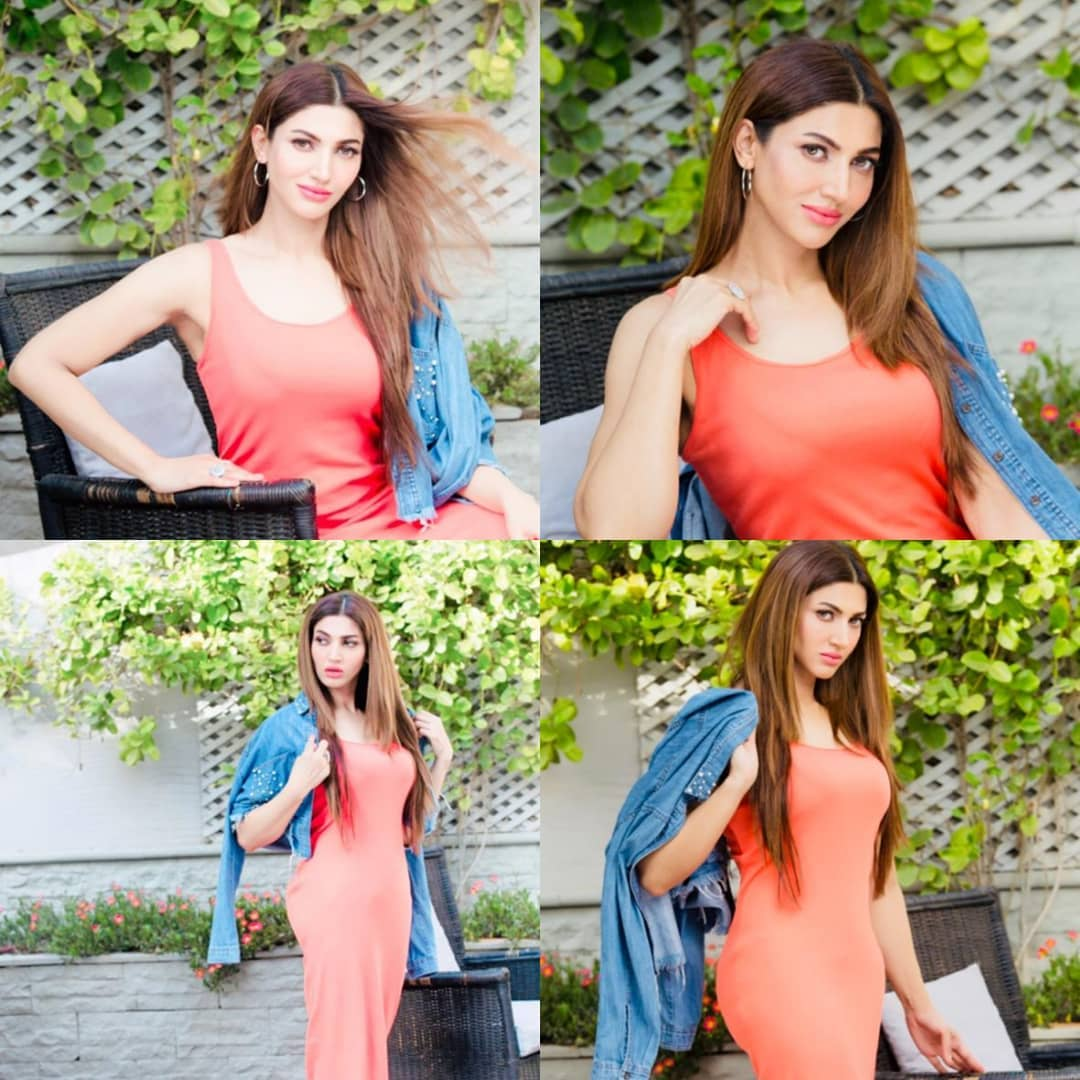 New Photos of Actress Sana Fakhar on set of her Upcoming Project