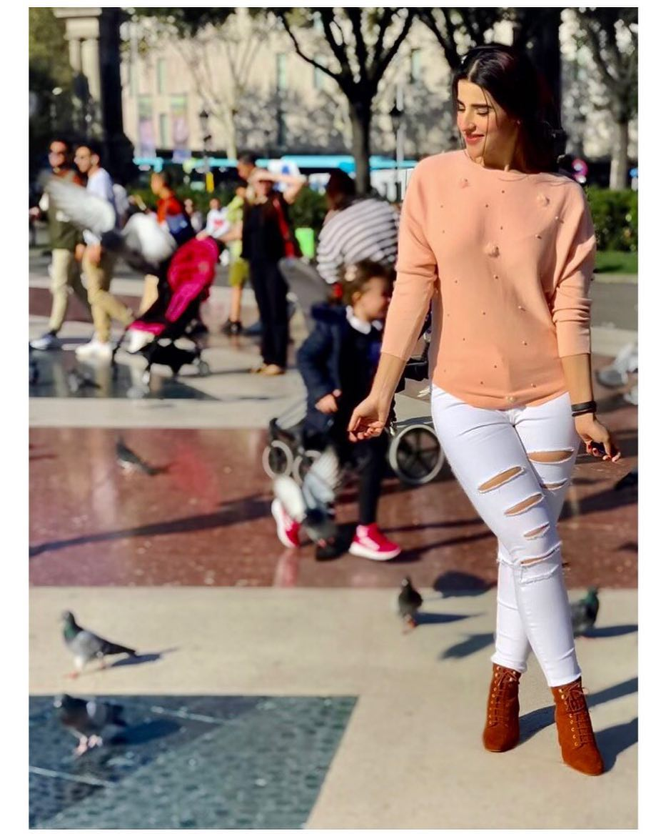 Awesome Photos of Hareem Farooq in Spain and France