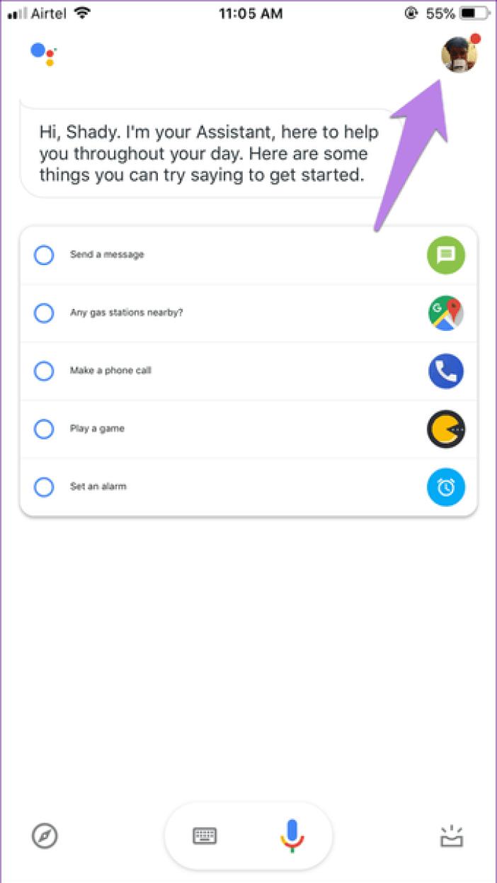 Google Assistant Settings 11