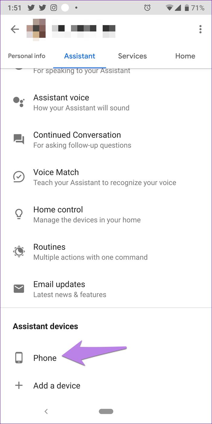 Google Assistant Settings 15