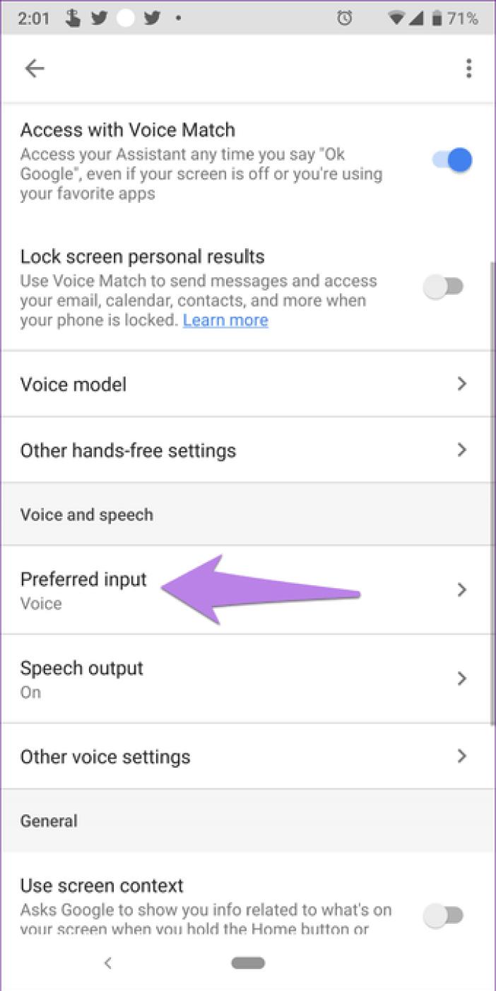 Google Assistant Settings 19