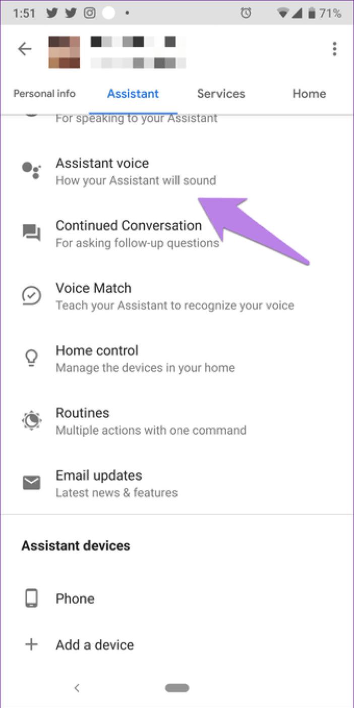 Google Assistant Settings 20