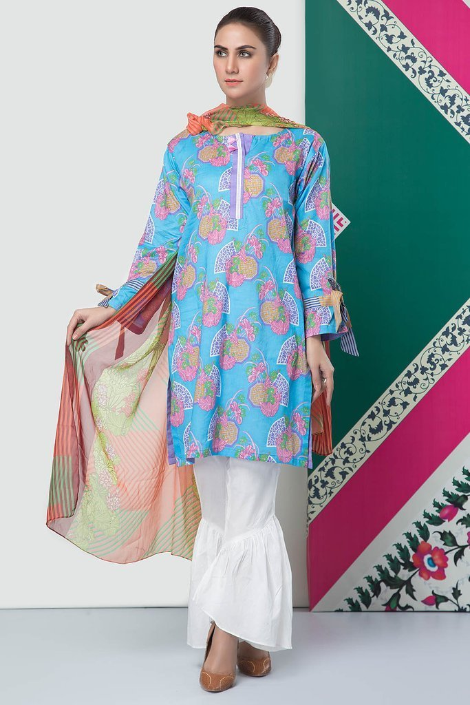 Stylish First Look of Warda Lawn For Yr 2019 Volume-2 for women