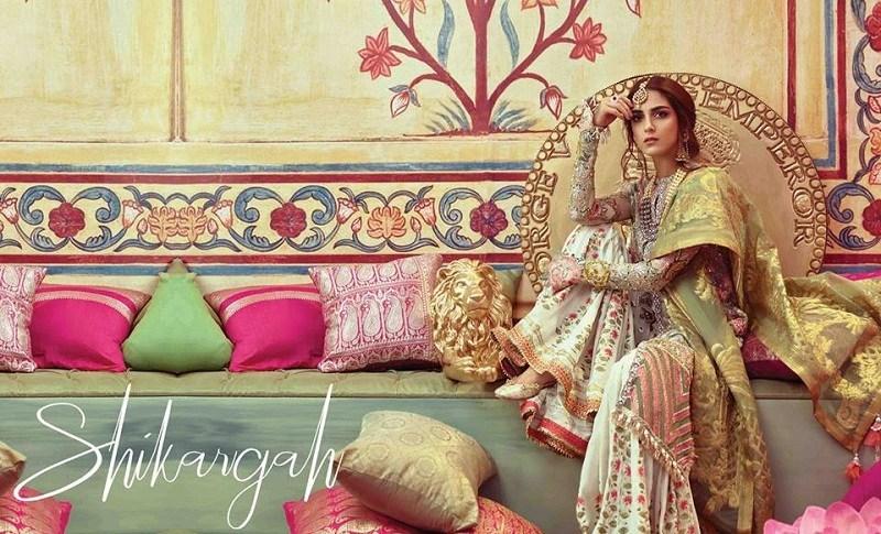 Stylish New Crimson X Republic Wedding Suits for Pakistani Women