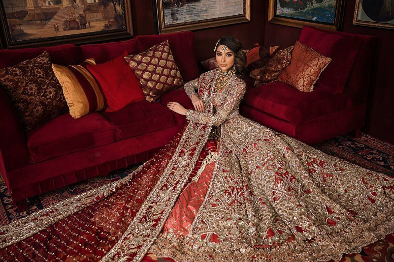 Stylish Awesome Winter Bridal Wear Collection By Republic Womenswear Brand For Yr 2019