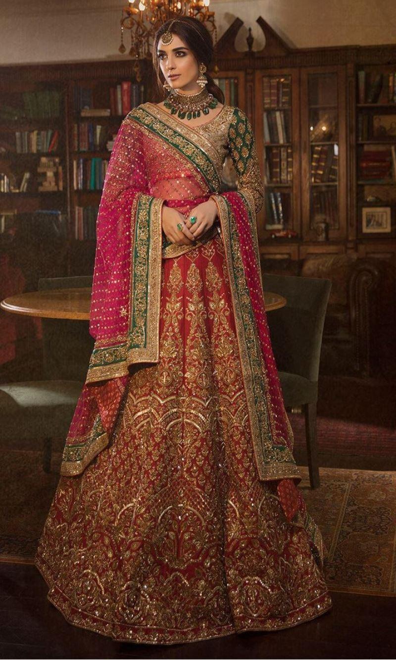 Stylish Best & Popular Top 8 Pakistani Bridal Dress Designers List