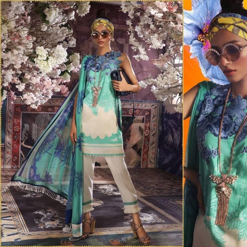 Stylish Sana Safinaz Muzlin Lawn Volume-2 For Girls