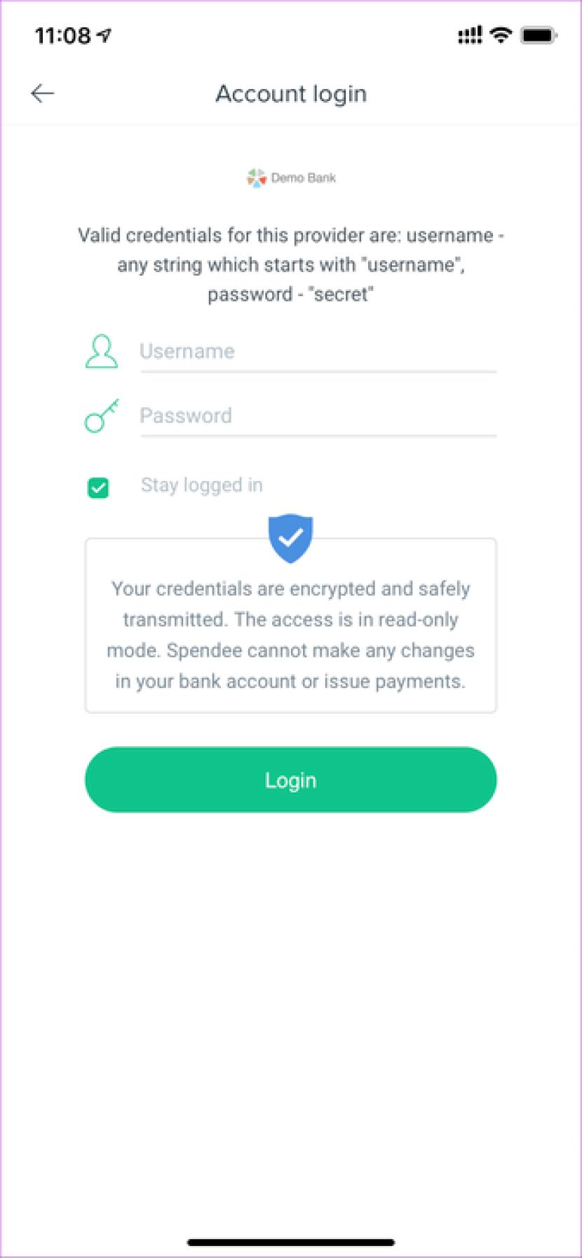 Spendee Bank Login
