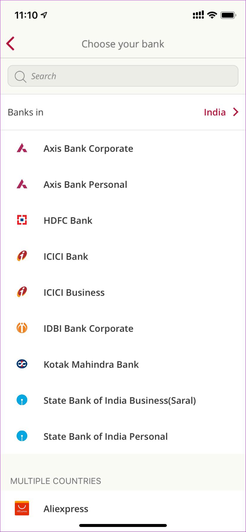 Toshl Banks