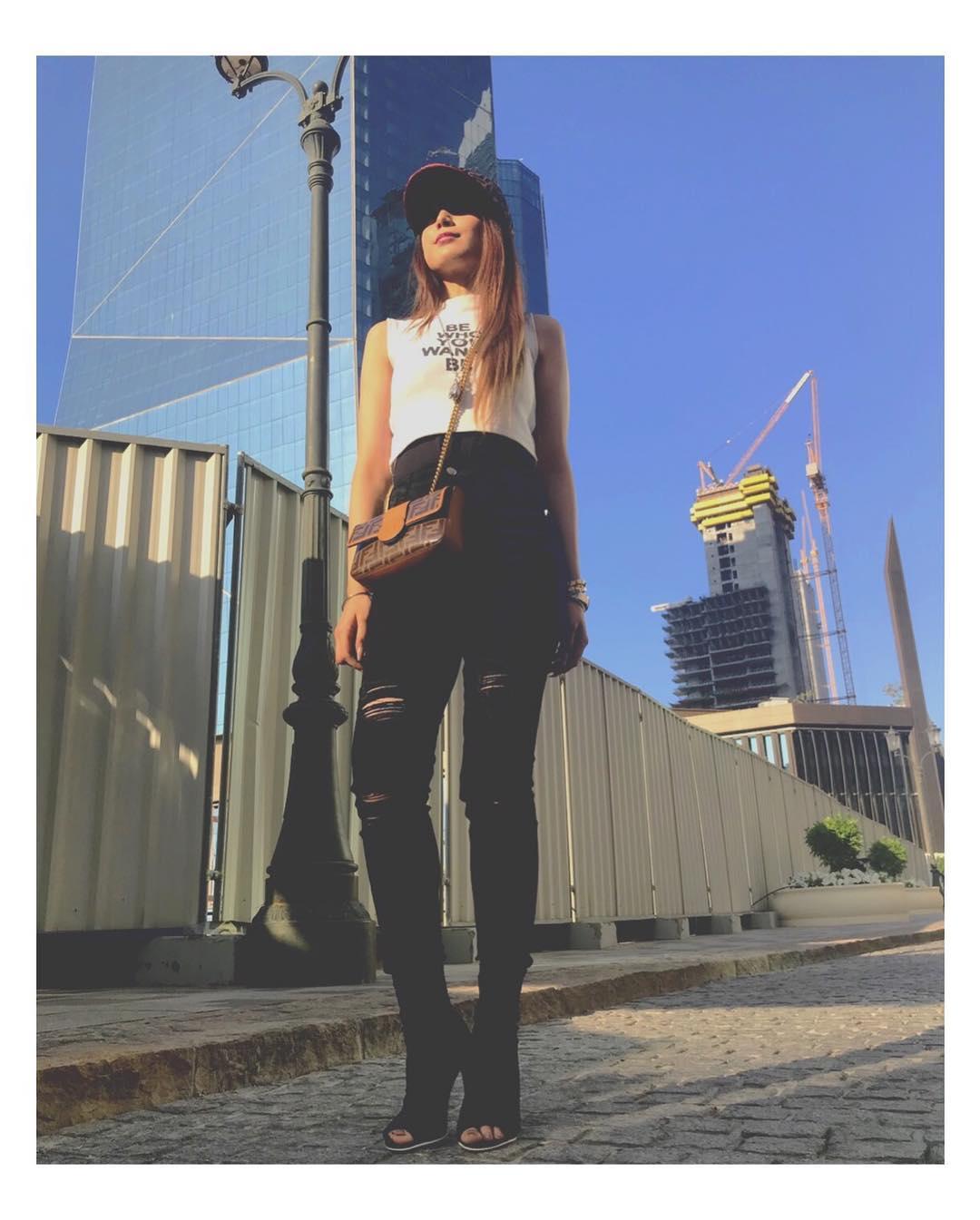 New Photos of Aima Baig in Dubai and USA