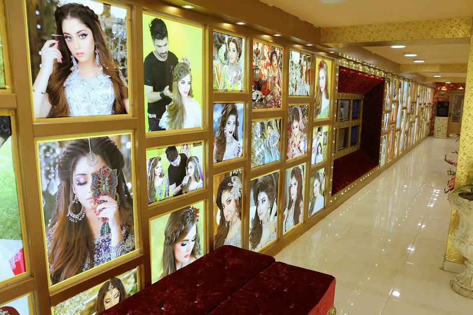 Nida Yasir at the Opening of Kashees Salon New Branch