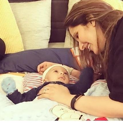 Awesome Photos of Sania Mirza with her Son Izhaan Mirza Malik