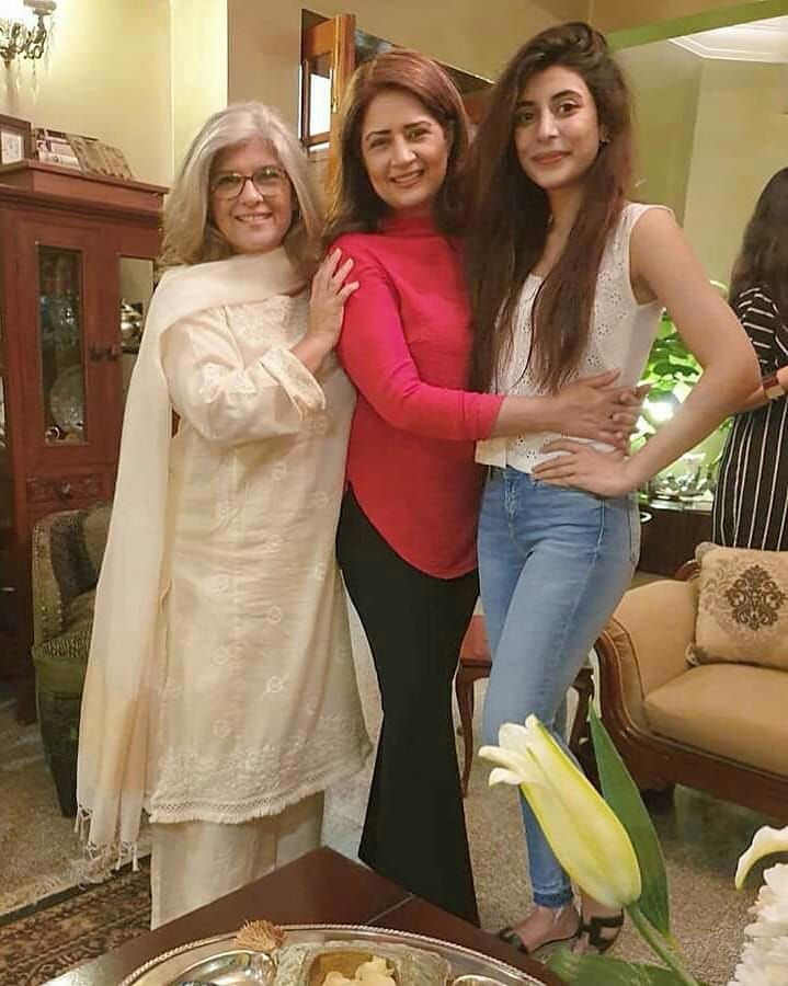 Celebrities at Atiqa Odho Home for Dinner Last Night