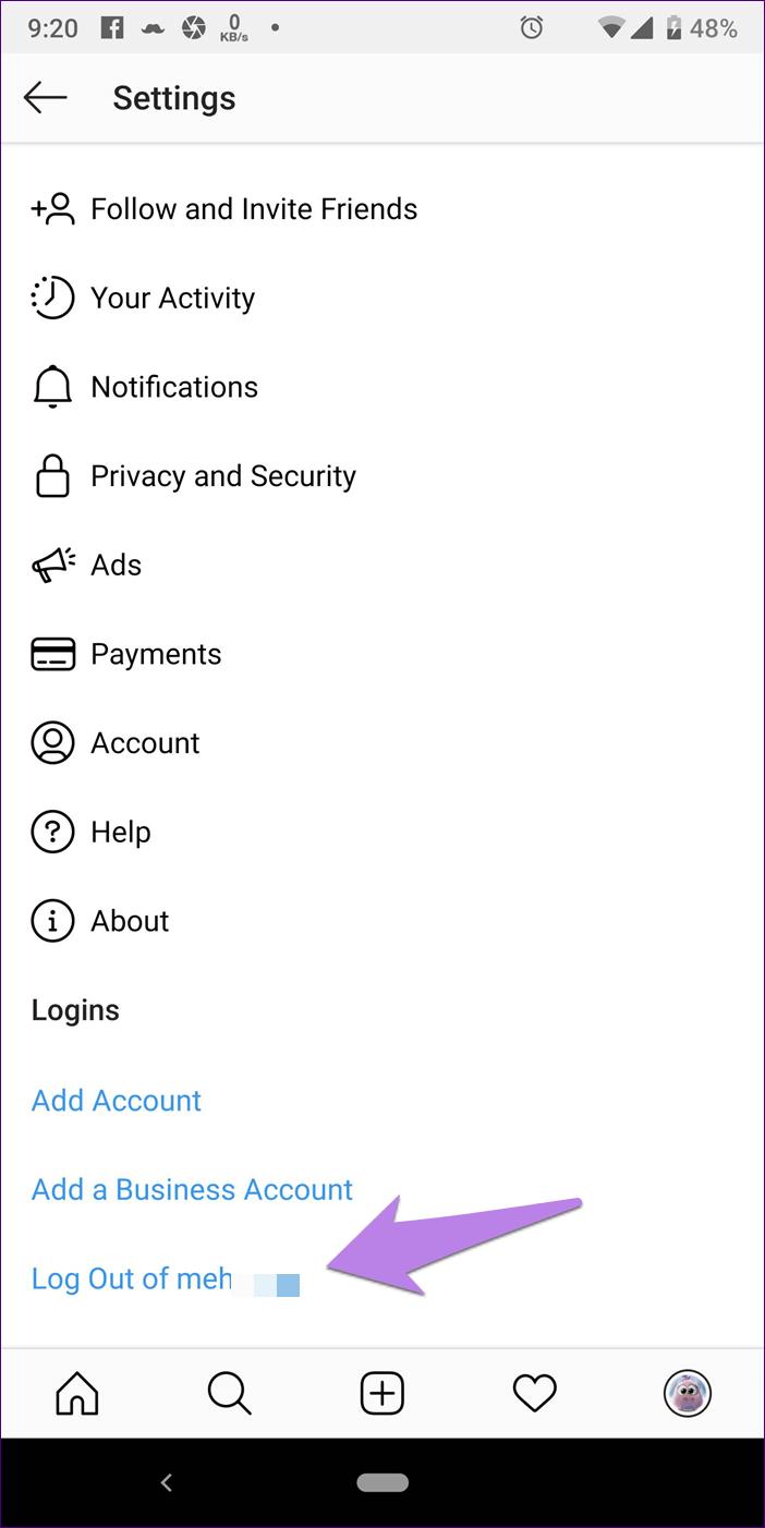 Instagram Notifications Not Working 3