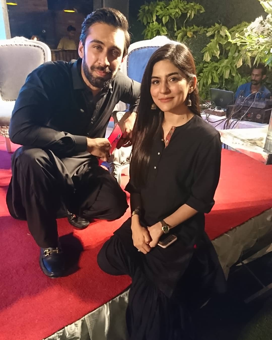 Celebrities at Meet and Greet Event of Ramazan Transmission