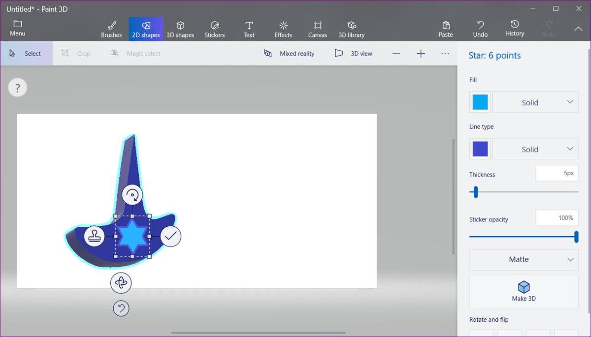 Logo In Paint 3D 6