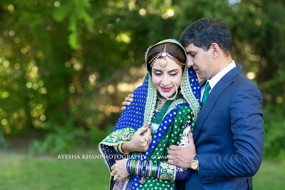 Actress Saman Ansari Shared her Awesome Wedding Photos