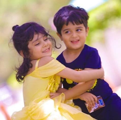 Syed Jibran with his Wife Afifa Celebrating Birthday of their Daughter Eva Jibran
