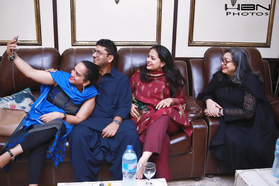 Celebrities at Qawali Night Hosted by Javeria Saud at her Home