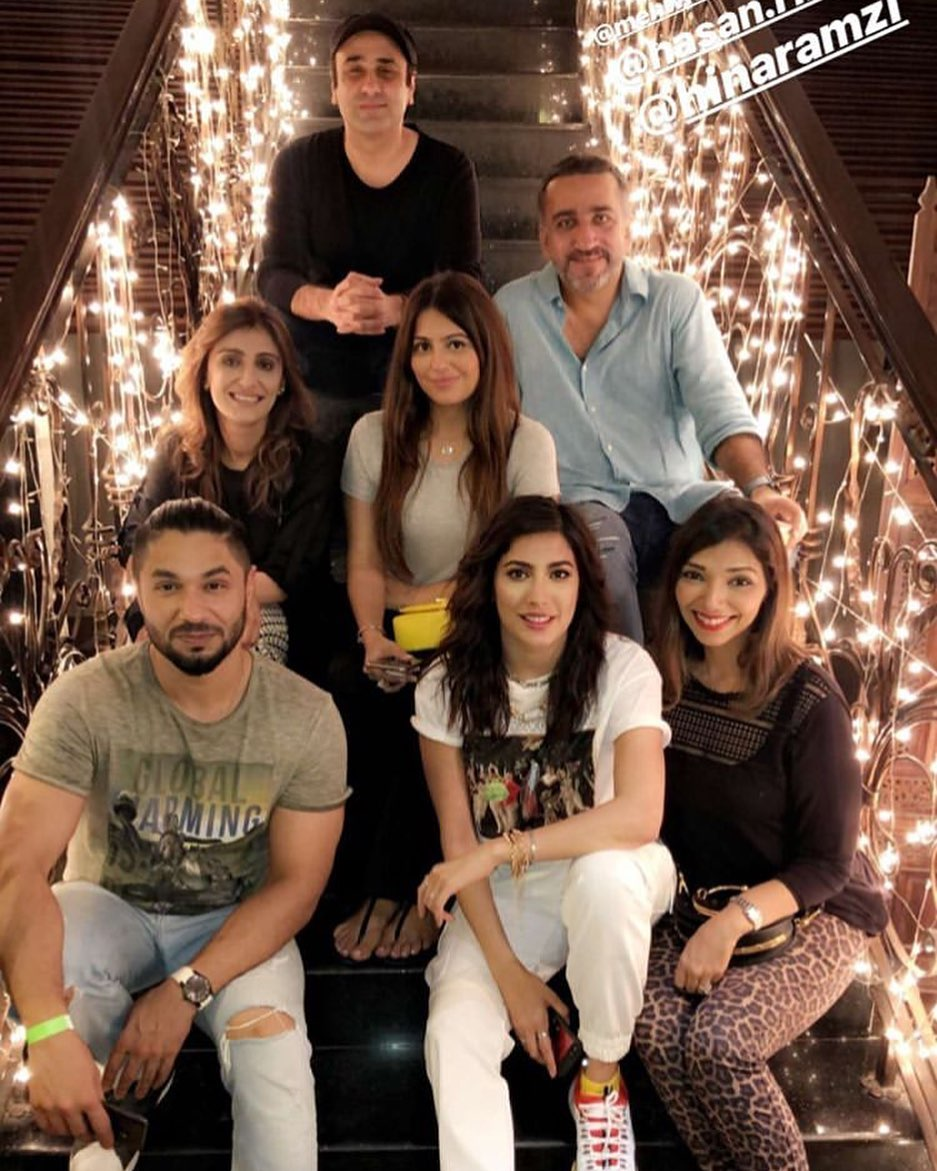 Celebrities at Dinner Last Night Hosted by Director Wajaht Rauf
