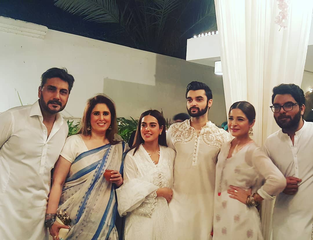 Pakistani Celebrities at the Grand Iftar Party