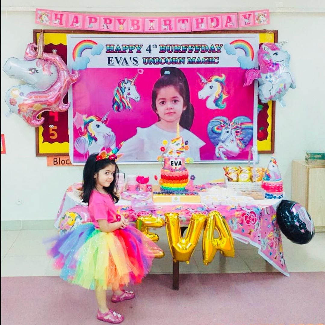 Syed Jibran and Afifa Jibran Celebrating Birthday of their Daughter Eva Jibran