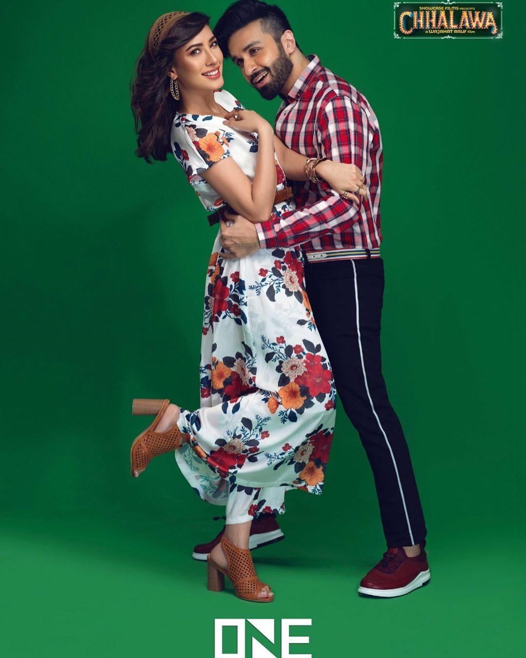 New Photoshoot of Mehwish Hayat and Azfar Rehman for a Clothing Brand